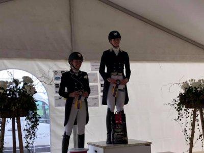 Margot en Gavaristo 1ste Youngriders Geesteren